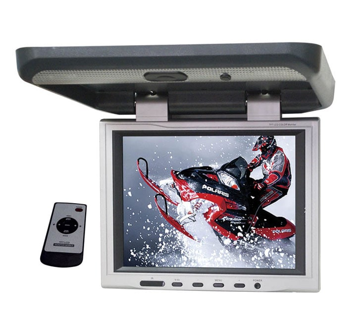 Sharper Vision 12 Inch Tft Flip Down Monitor Overstock Shopping Great Deals On Mdx Mobile Video