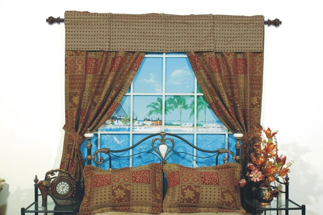 amsterdam pole top 84 inch curtain panel