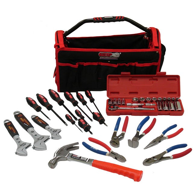 Grip 40-piece Professional Tool Set w/ Bonus Bag