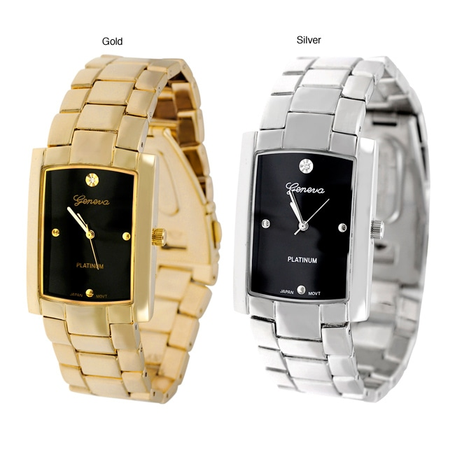 Geneva Platinum Men's Fashion Watch