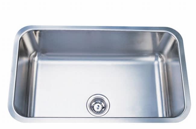 Elongated Stainless Steel 30-inch Undermount Kitchen Sink