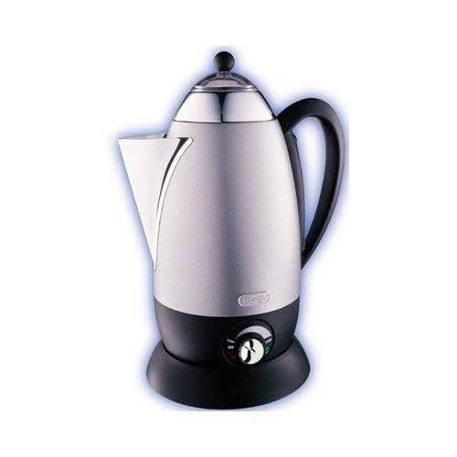 Electric Percolator Coffee Maker Reviews : DeLonghi Retro 12-cup Electric Percolator (Refurbished) - 10587046 - Overstock.com Shopping ...