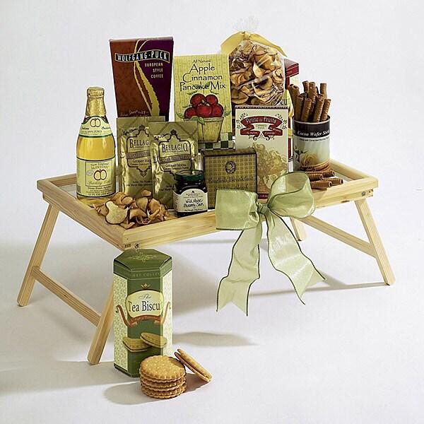 Moms Breakfast-In-Bed Tray Gift Basket