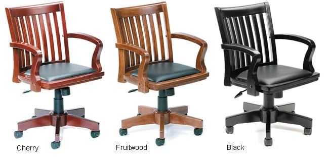 boss hardwood bankers office chair 10614789 shopping