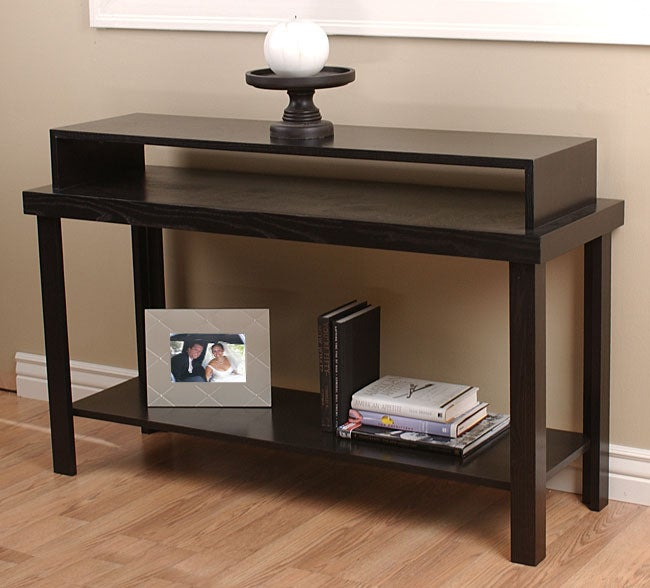 Contemporary java stacking console table 10623708 for Small stackable coffee tables