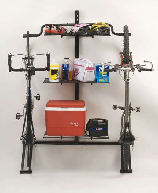 Double Bike Shelf