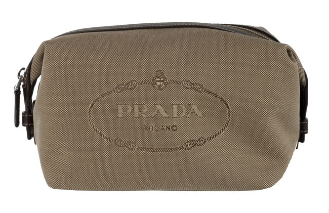 Prada Jacquard Toiletry Bag