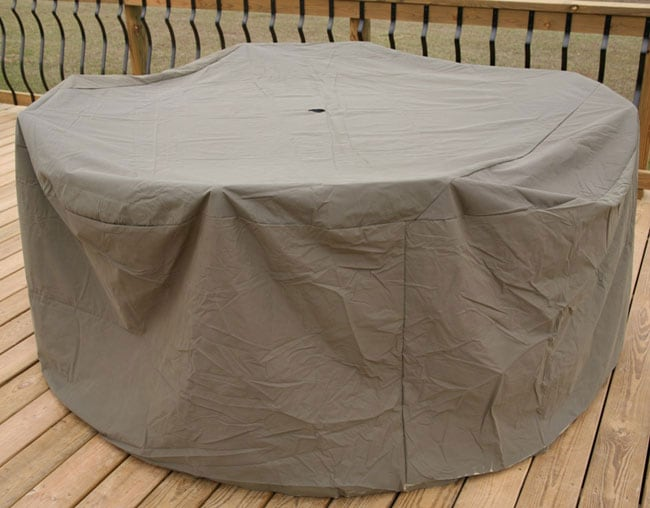 Heavy duty Outdoor 48 54 inch Table Chair Cover Overstock S