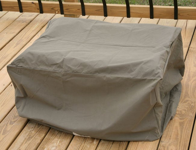 Heavy Duty Outdoor Ottoman Furniture Cover Overstock Shoppin