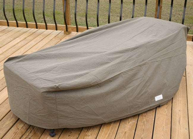 Heavy Duty Outdoor Chaise Lounge Furniture Cover Overstock S