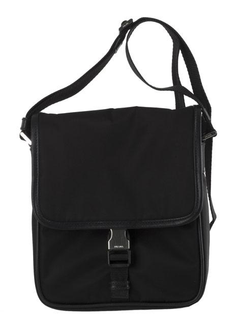 knockoff wristlets - Prada Black Nylon Messenger Bag - 10670778 - Overstock.com ...