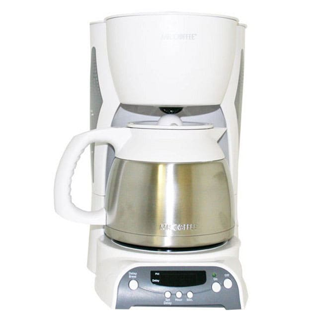 Mr. Coffee 8-cup Thermal Programmable Coffeemaker - 10672832 - Overstock.com Shopping - Great ...