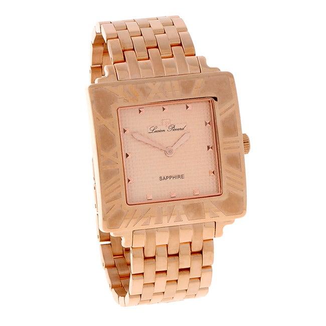 Lucien Piccard Nova Collection Rose Goldtone Watch