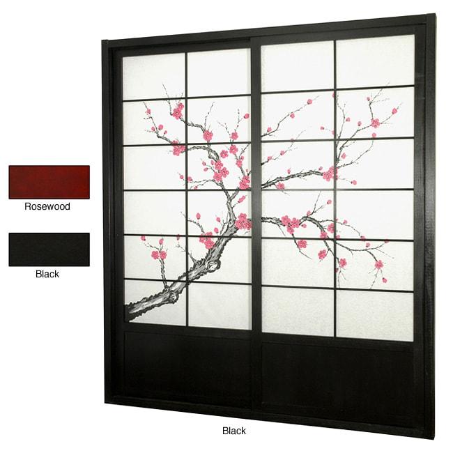 Cherry Blossom Shoji Sliding Door Kit (China)