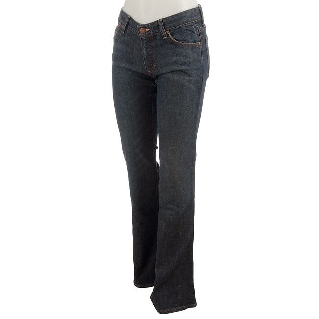 Salt Works Women's Lowrise Flare Jeans