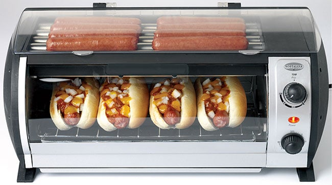 Large 1000 Watt Hot Dog Roller And Toaster 10699658