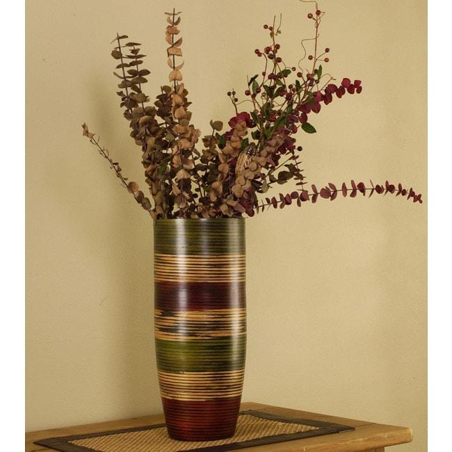 Bamboo Multicolor Vibrant Vase (Vietnam)