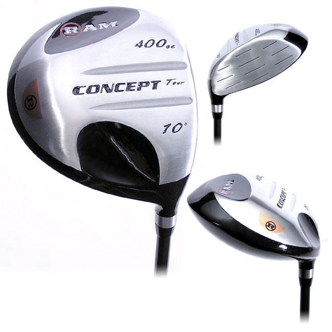 Ram 10-degree 400cc Firm Flex Graphite Shaft Driver