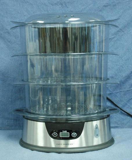 Cooks Essentials 3-Tier Digital Steamer