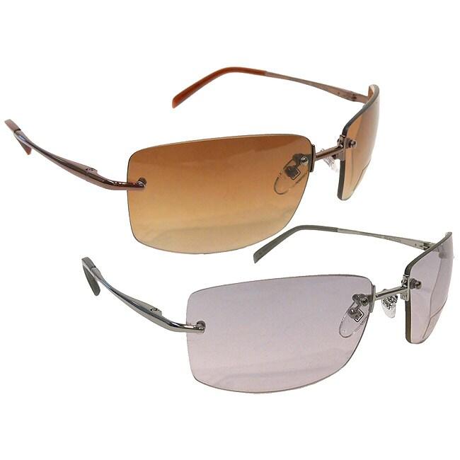 Frameless Glasses : Kenneth Cole Reaction Frameless Sunglasses - 10712676 ...