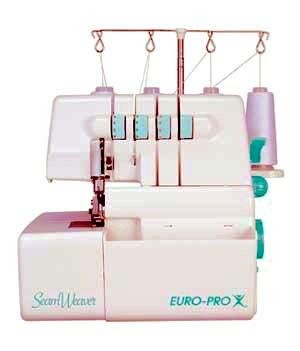 Euro-Pro Seam Weaver Serger Machine