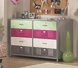 Girl 39 S Locker 8 Drawer Dresser 10741524
