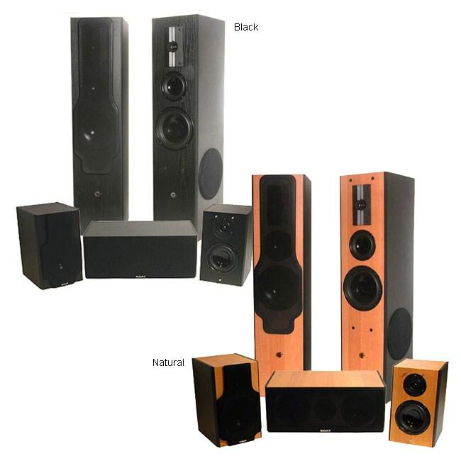 SDAT Hi-Fi 5-piece Surround Speaker System