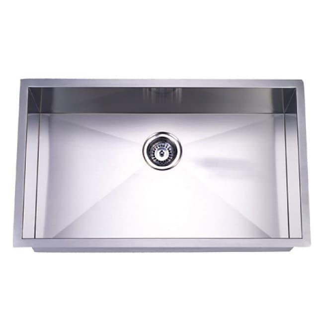 Undermount Single Bowl 32-inch Stainless Steel Kitchen Sink