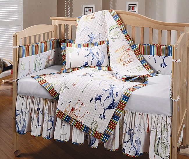 Knights and Dragons 4-piece Crib Set