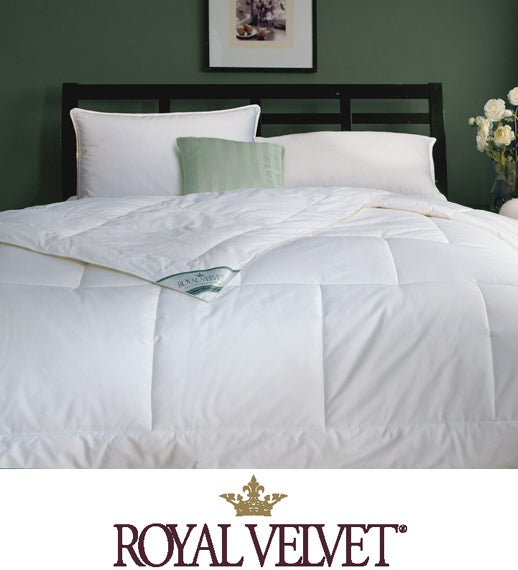royal velvet venice down alternative comforter overstock shopping the best prices on royal. Black Bedroom Furniture Sets. Home Design Ideas
