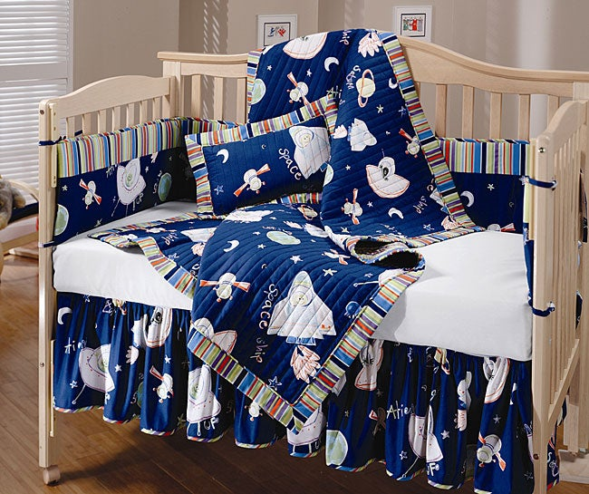 Outer Space 4 Piece Crib Set 10761081 Overstock Com