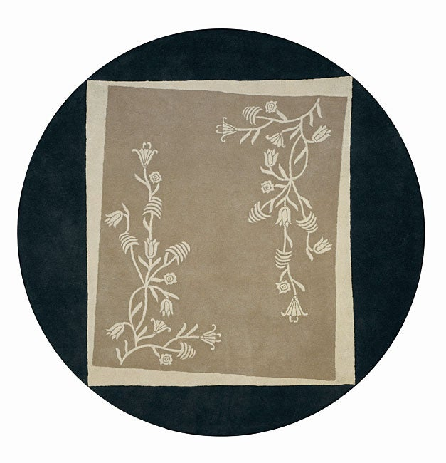 Hand-tufted Tuscan Villa Collection Thomasville Wool Rug