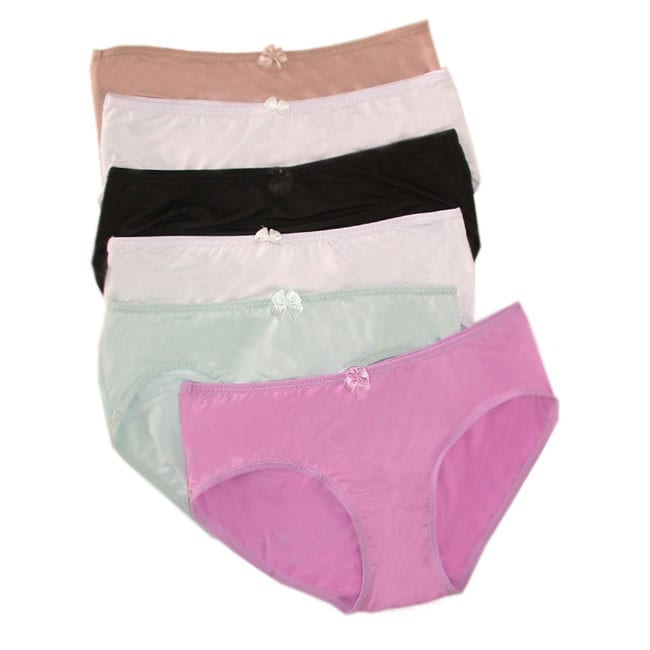 Mopas nylon panties 12 pair overstock shopping top for Top rated boutiques
