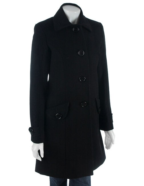 JLo Wool Walking Coat