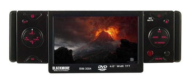 Blackmore Single Din 4-inch LCD Multimedia Stereo