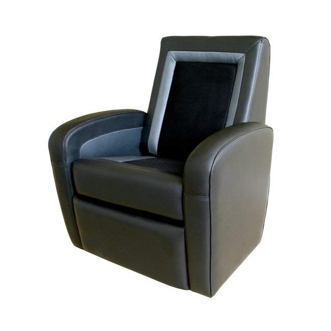 Gaming Chair Ottoman Home Styles Brown Vinyl Gaming