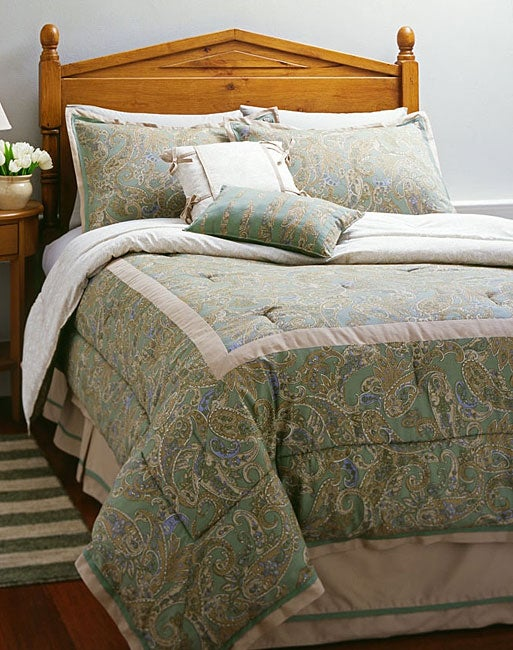 Spring Valley 4-piece Comforter Set (Full)