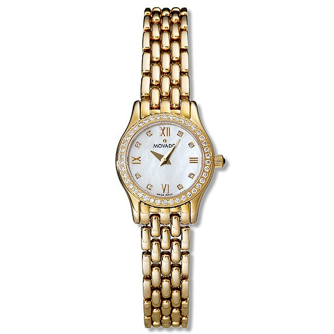 Movado Womens Rilati 14k Yellow Gold Watch 10808894  : L10808894 from www.overstock.com size 650 x 650 jpeg 25kB