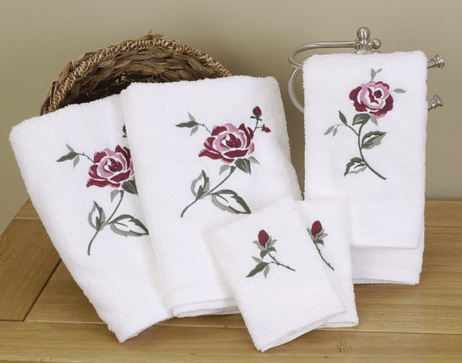 Rose Towels (Set of 6)