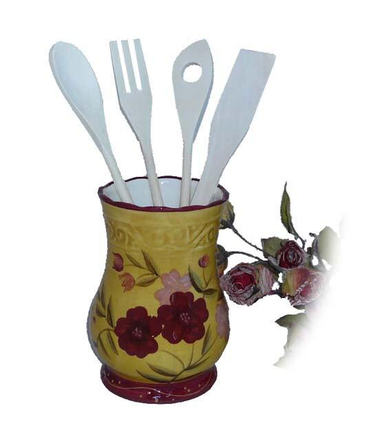 Floral Garden Kitchen Tool Set