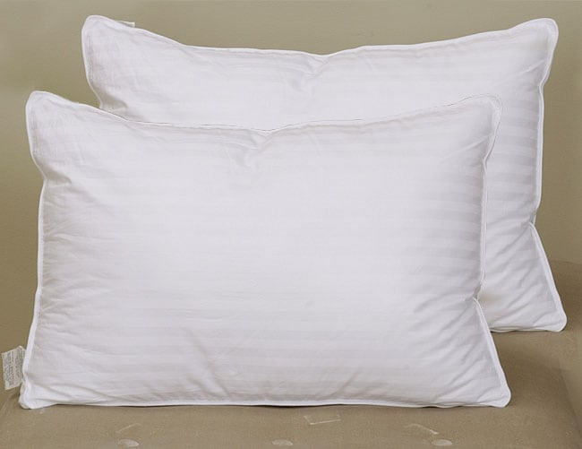 Opulence Comforel 400tc Gusseted Pillows Set Of 2