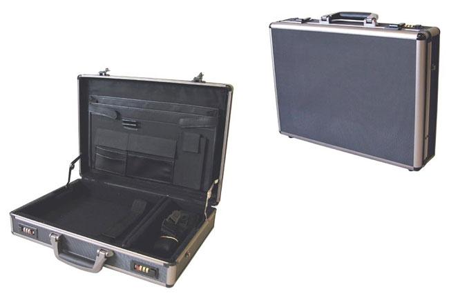 Aluminum Lockable Notebook Computer Attache Case