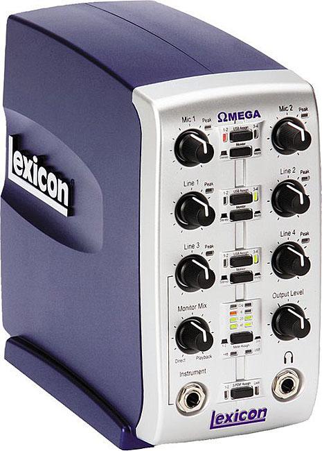 Lexicon Omega Desktop Computer Recording Studio