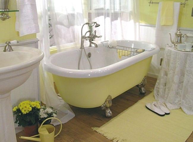 Custom Painted Madeline Clawfoot Bathtub