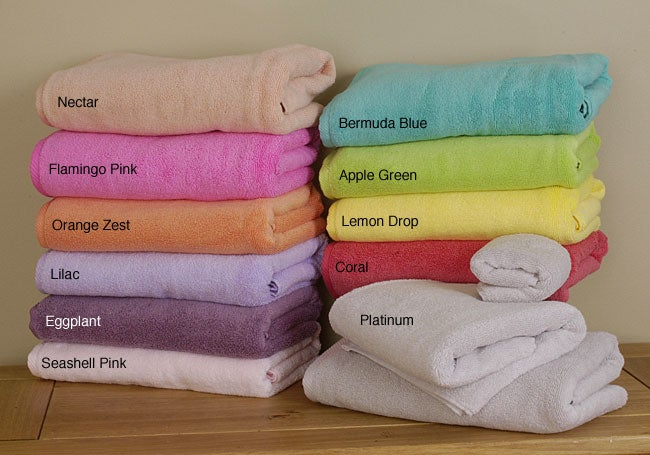 MicroCotton 3-piece Guest Towel Set