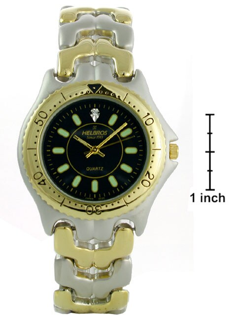 Helbros By Jules Jurgensen Men's Two-tone Watch