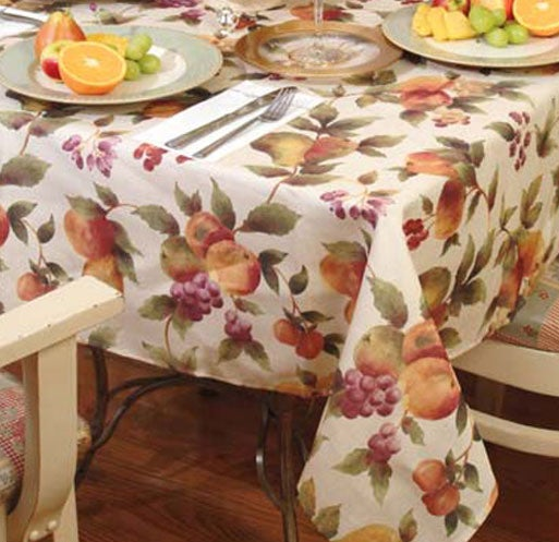 Fruit Design Kitchen Tablecloth 10858755 Overstock Com