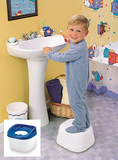 Safety Step Stools Safety 1st 3-in-1 Potty n Step