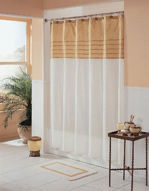 Milan Fabric Shower Curtain