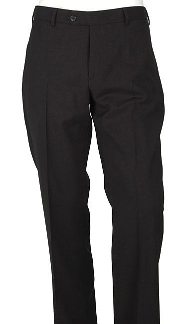 Prada Men's Black Wool Dress Pants